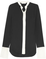 Chloé Washed-silk blouse