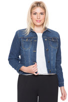 ELOQUII Plus Size Denim Jacket