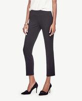 Ann Taylor Side Zip Slim Ankle Pants