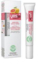 Yes to Grapefruit Dark Circle Correcting Eye Cream 15ml for Uneven Skin Tone