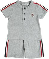 Moncler Cotton Jersey T-Shirt & Shorts