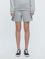 McQ by Alexander McQueen Logo Embroidered Shorts