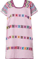 Pippa Holt Embroidered Cotton Kaftan - Baby pink