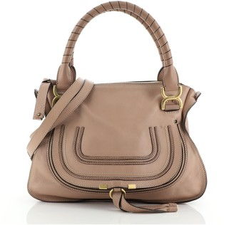 Chloé Marcie Satchel Leather Small