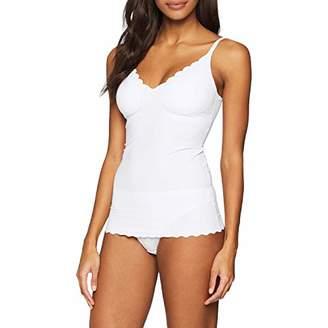 Skiny Women's Micro Lovers Spaghettishirt herausnehmbare Pads Vest, (Beige 2409), (Size: )