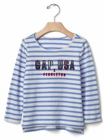 Gap babyGap + Pendleton striped tee