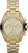 Michael Kors MK5798 Mini Bradshaw gold-plated watch