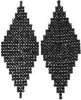 Joe Fresh Women's Black Chandelier Earrings, Jet Black (Size O/S)