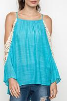 Umgee USA Crochet Beauty Top