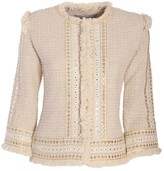 The Extreme Collection Cream Short Classic Jacket Belen