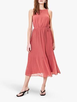 Oasis Pleated Midi Dress
