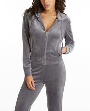 Juicy Couture Women's Zipper Front Hoodie