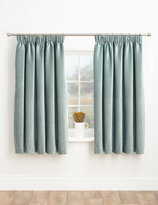 Marks and Spencer Chenille Pencil Pleat Curtains