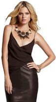 GUESS by Marciano Solid Cross-Front Cami