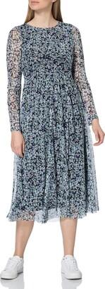 Tom Tailor Women's 1023588 Mesh Dress