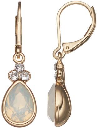 Dana Buchman Teardrop Earrings with Swarovski Crystals