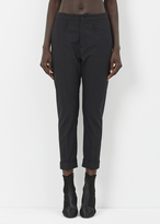 Hope black law trouser