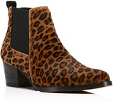 Kenneth Cole Russie Leopard Print Calf Hair Chelsea Booties - 100% Exclusive
