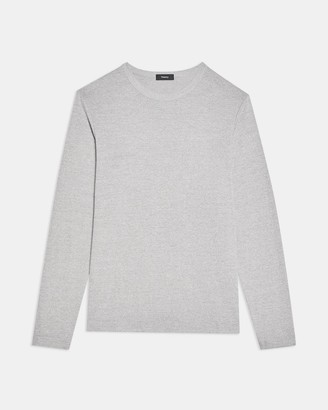 Theory Long-Sleeve Tee in Modal Jersey