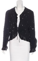 Ungaro Embellished Silk Jacket