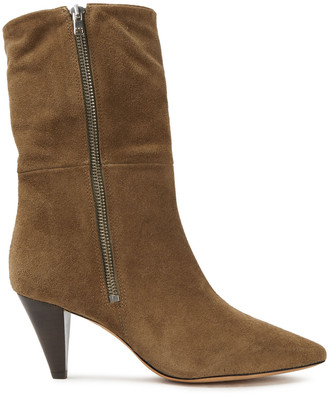 IRO Lilia Suede Ankle Boots