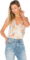 Haute Hippie La Lady Blouse in White