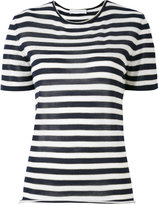 Giada Benincasa - striped T-shirt - women - Silk/Polyester/Viscose/Cashmere - M