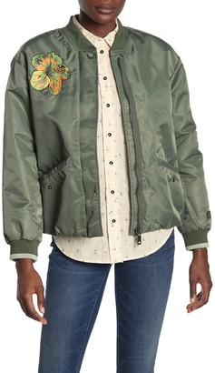 Scotch & Soda Embroidered Bomber Jacket