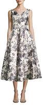 Barbara Tfank Inc. Sleeveless Fit-&-Flare Dress