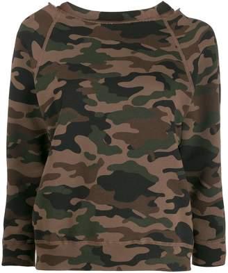 Nili Lotan camouflage print jumper