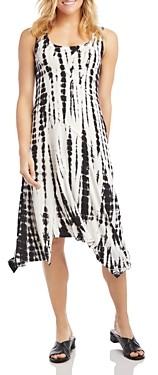 Karen Kane Tie-Dyed A-Line Dress