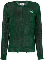 Zoe Karssen sheer glitter sweater