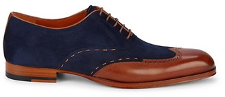 Mezlan Paganini Two-Tone Leather Oxfords