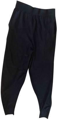 Sonia Rykiel Sonia By Blue Wool Trousers