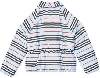 Burberry Blue Icon Stripe Jacket