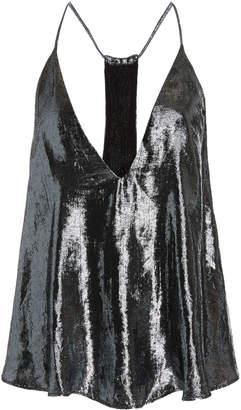 Isabel Marant Kib V-Neck Silk-Blend Camisole Top