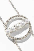 Dynamite Pearl and Circle Choker Necklace