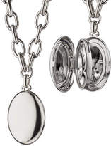 "Monica Rich Kosann Premier Sterling Silver Locket Necklace, 18"""