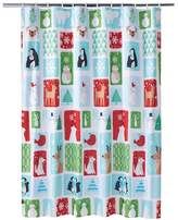 St. Nicholas Square® Snow Friends Shower Curtain