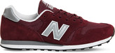 New Balance M373 suede and mesh trainers