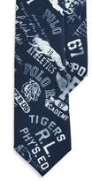 Ralph Lauren Wool Graphic Narrow Tie