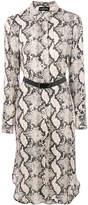 By Malene Birger snake pattern shirt dress