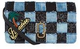Marc Jacobs Denim Patchwork Wallet