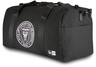 New Era Black Inter Miami CF Canvas Small Duffel Bag