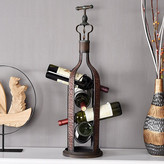 Welland Industries LLC 4 Bottle Tabletop Wine Rack