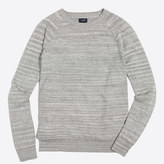 J.Crew Factory Space-dyed raglan crewneck sweater