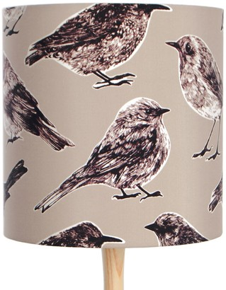 Katie & The Wolf Flight Lampshade Grey