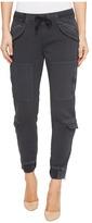 Hudson Runaway Flight Pants in Blackened Charcoal Women's Jeans