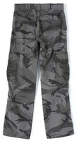 Wrangler Originals Flannel Lined Ripstop Cargo Pants Anthracite 12
