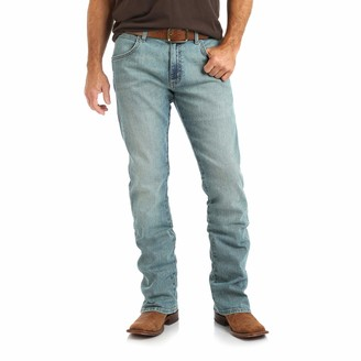 Wrangler Men's Big and Tall Big & Tall Retro Slim Fit Boot Cut Jean